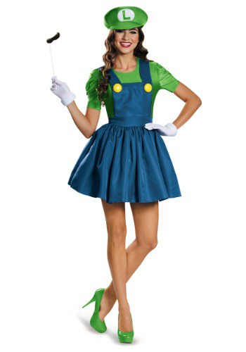 Women's Luigi Dress Costume