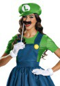 Women's Luigi Dress Costume alt