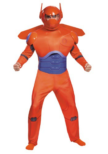 Adult Red Baymax Deluxe Costume