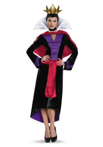 Womens Deluxe Evil Queen Costume