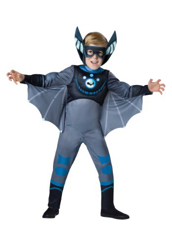 Wild Kratts Blue Bat Costume