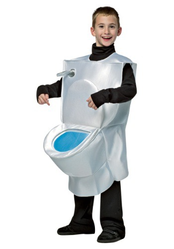 Kids Toilet Costume