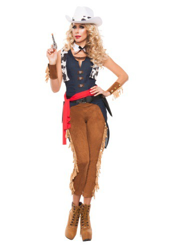 Women's Wild Wild West Cowgirl Costume