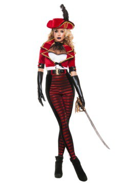 Women's Midnight Pirate Costume