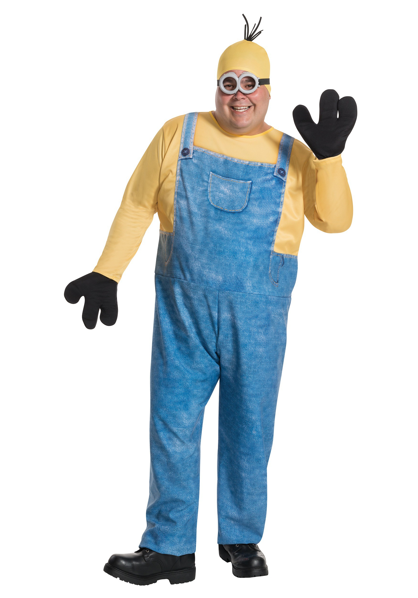 sc 1 st  Halloween Costumes UK & Plus Size Minion Kevin Costume