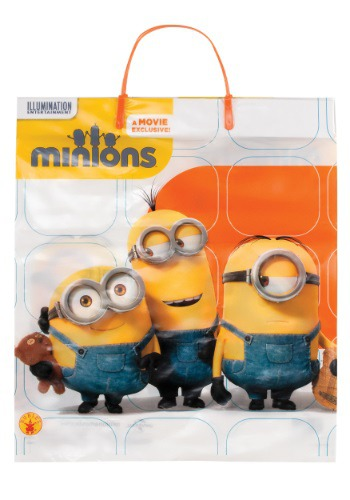 Minion Plastic Trick or Treat Bag