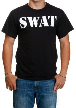 Adult Black SWAT T-Shirt