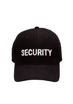 Adult Security Baseball Cap