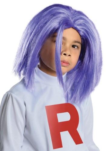 Child James Team Rocket Wig