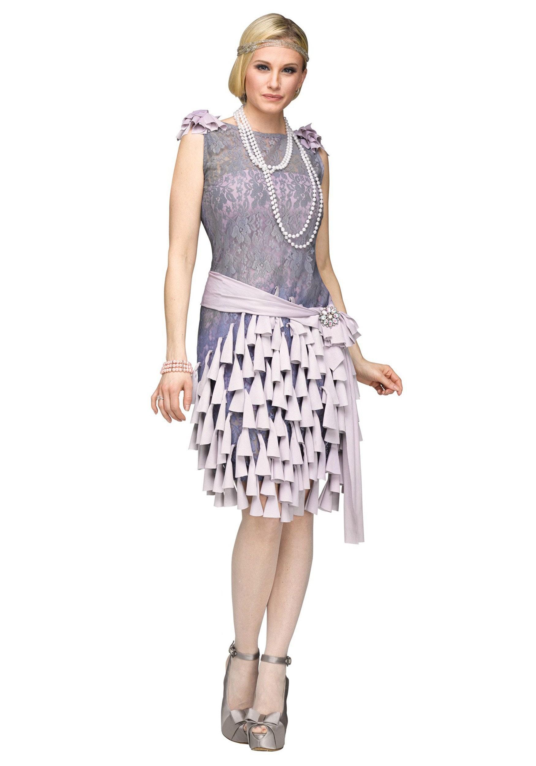 Women 39 S Great Gatsby Daisy Buchanan Bluebells Dress
