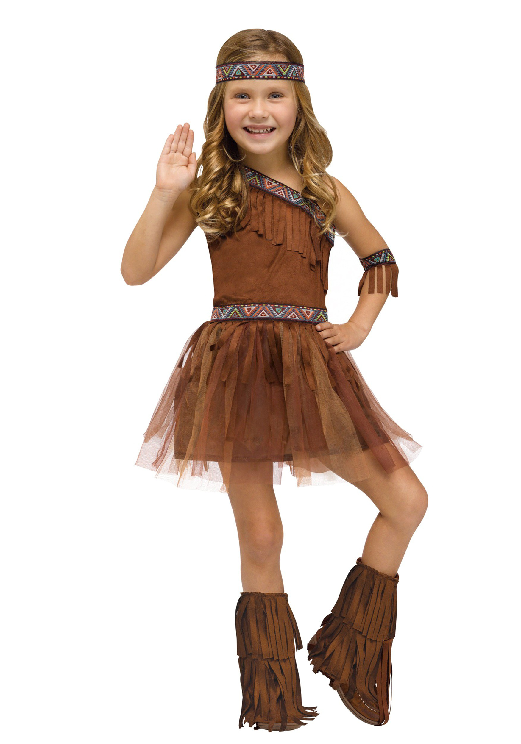 Toddler Give Thanks Indian Costume  sc 1 st  Halloween Costumes UK & Classic Native American Costume for Toddlers