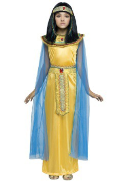 Girls Golden Cleoparta Costume