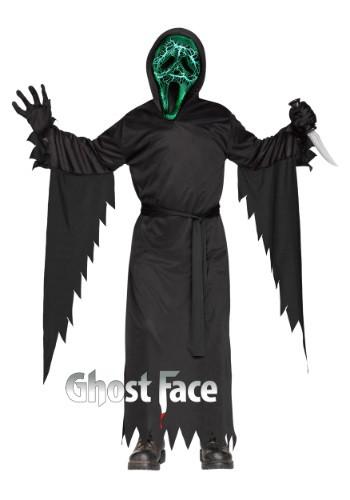 Child Smoldering Ghost Face Costume