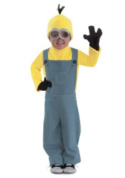 Child Minions Deluxe Bob Jumpsuit