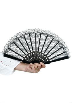 Black Lace Fan