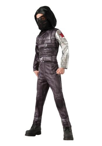 Child Deluxe Winter Soldier Costume