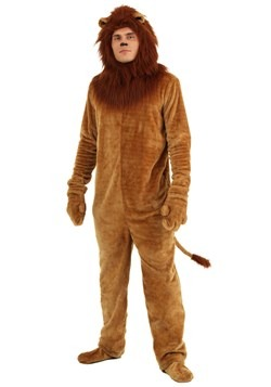Adult Deluxe Lion Costume