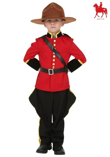 Toddler Canadian Mountie Costume