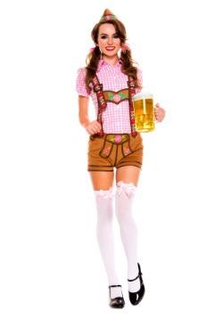 Women's Lederhosen Beer Babe Costume