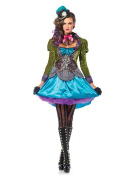 Deluxe Mad Hatter Women's Costume