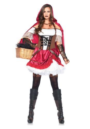 Womens Rebel Red Riding Hood Costume