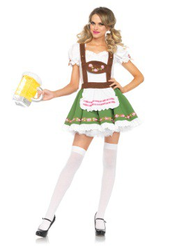Womens Beer Garden Darling Costume