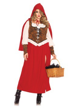 Plus Size Woodland Red Riding Hood