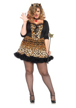 Plus Size Wildcat Costume