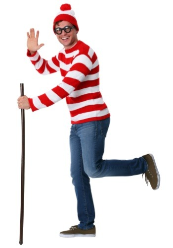 Adult Deluxe Where's Waldo Costume2