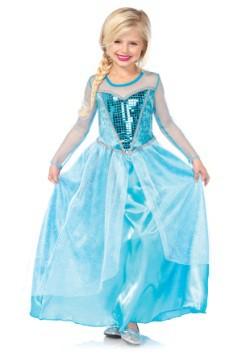 Child Fantasy Snow Queen Costume