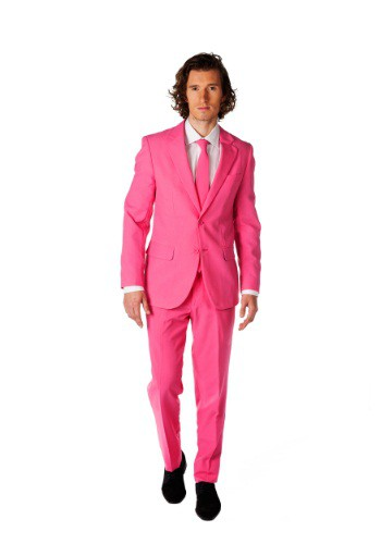 Mens Opposuits Pink Suit