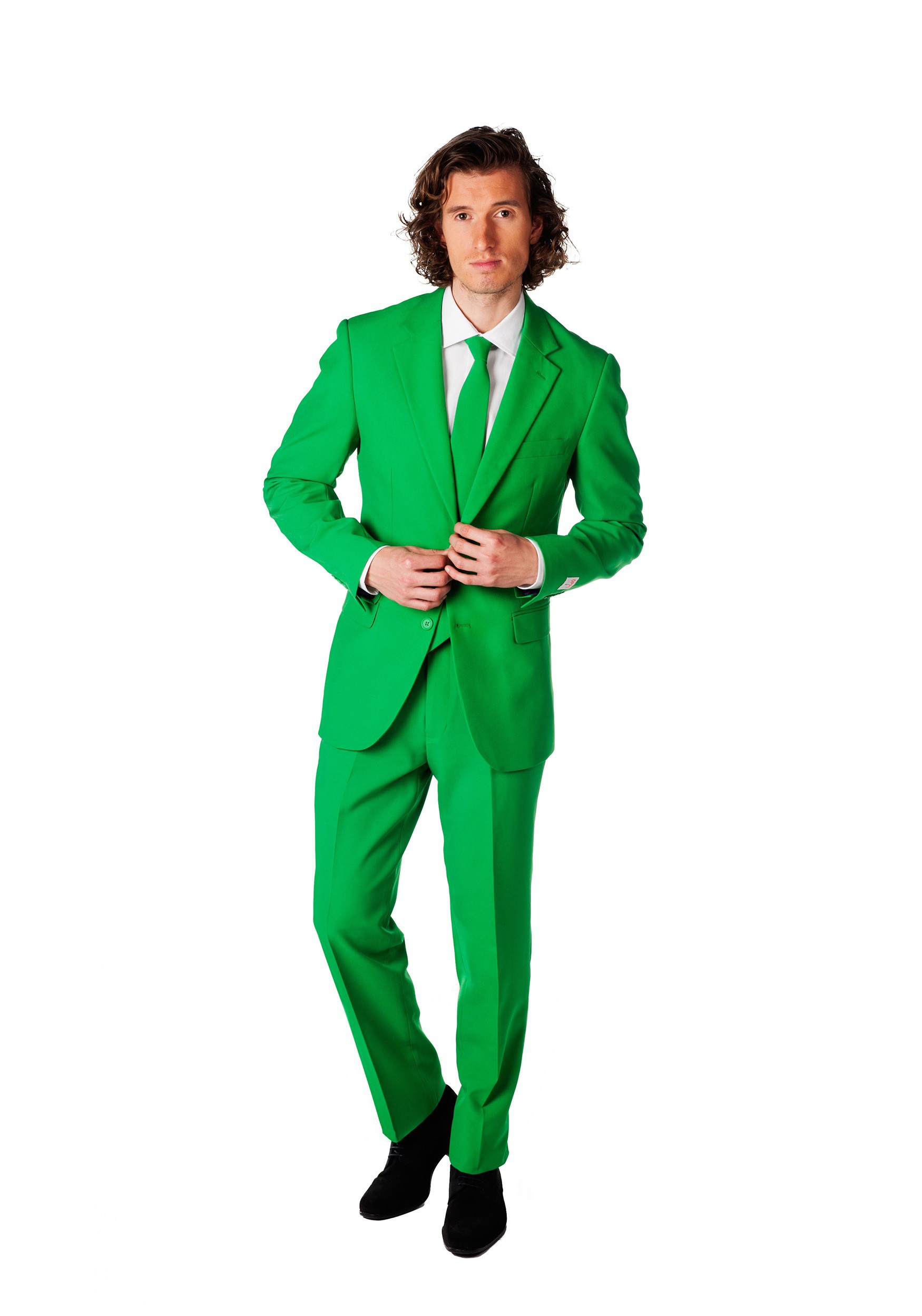 INOpets.com Anything for Pets Parents & Their Pets Mens Opposuits Green Suit