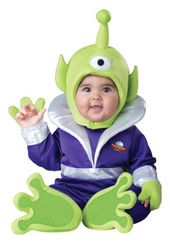 Infant/Toddler Mini Martian Costume