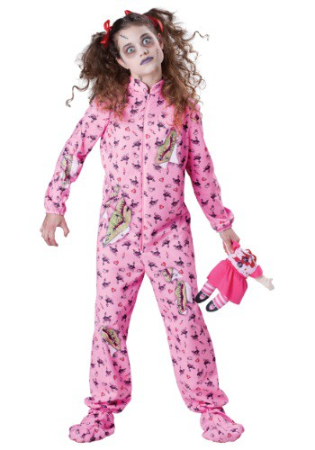 Kids Zombie Girl Costume