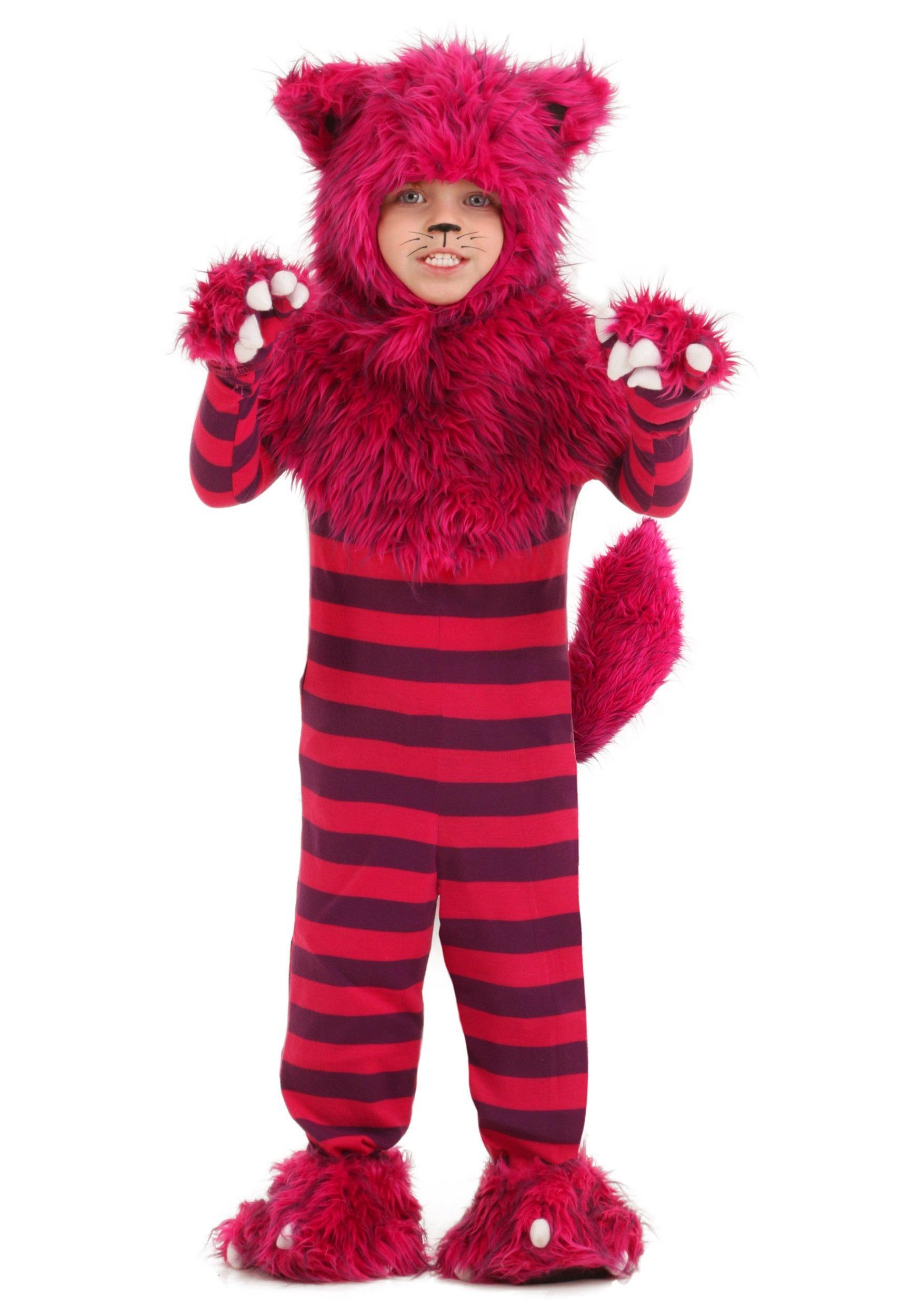 sc 1 st  Halloween Costumes UK & Toddler Deluxe Cheshire Cat Costume