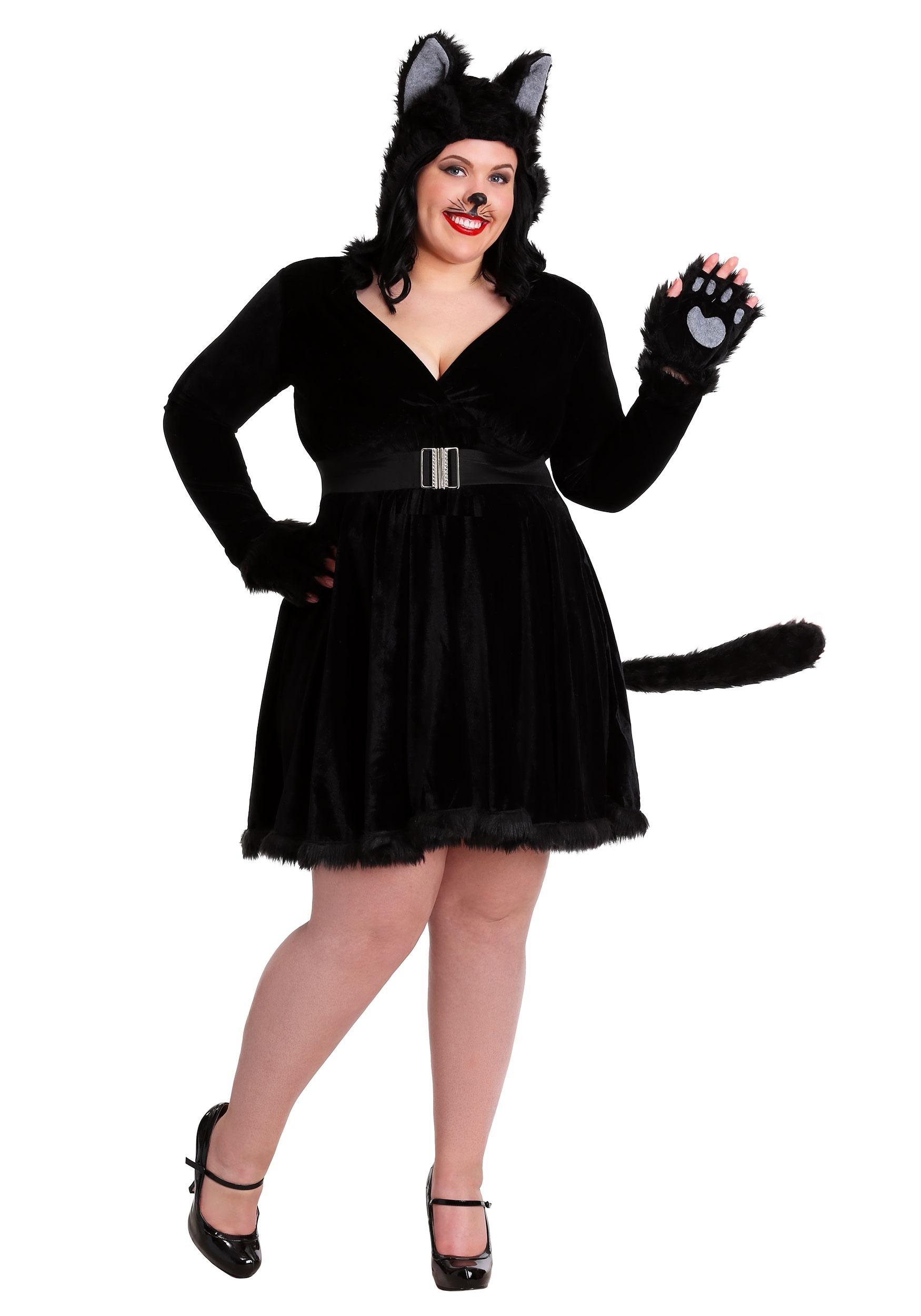 Plus Size Women S Black Cat Costume