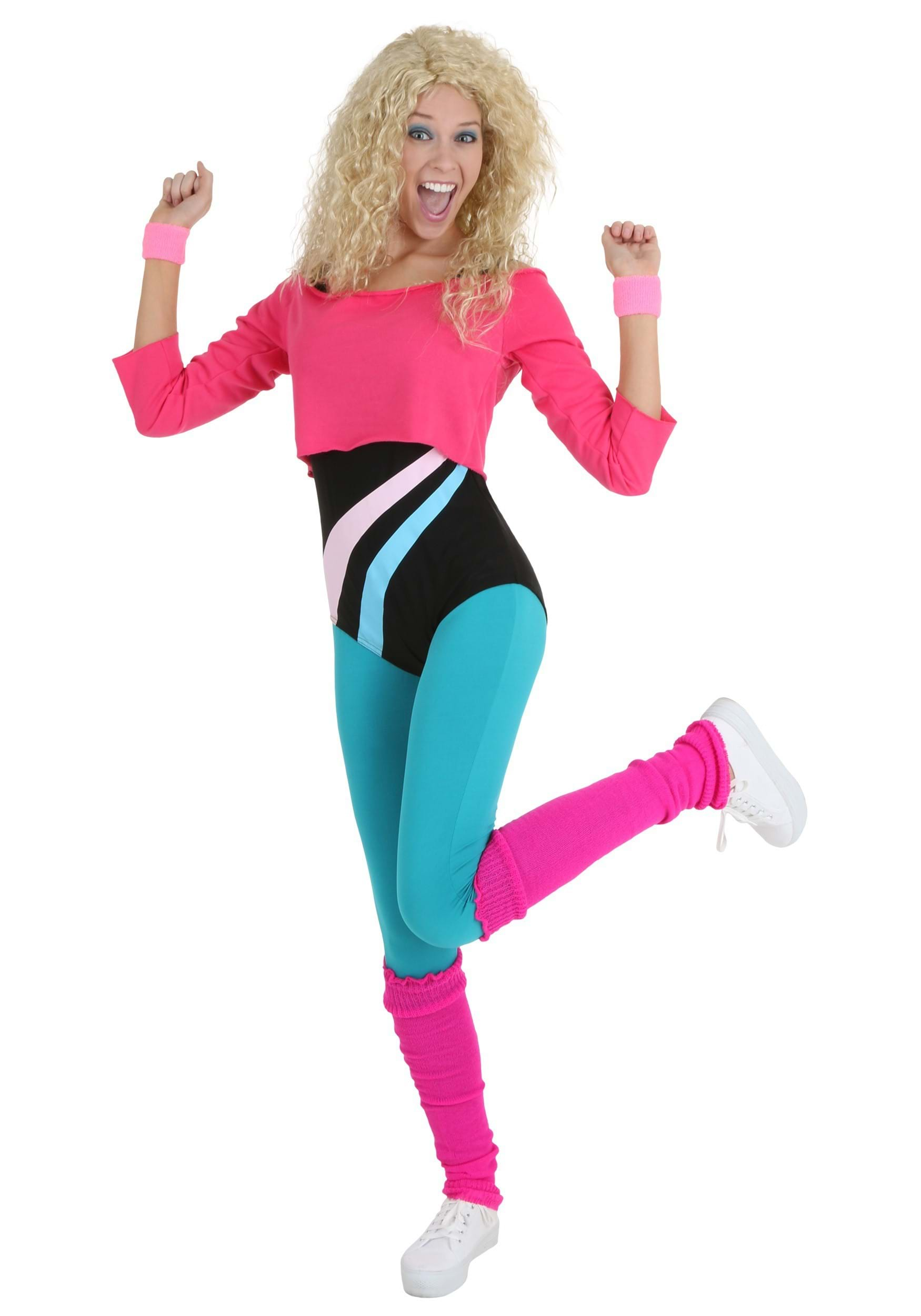 Womenu0027s 80u0027s Workout Girl  sc 1 st  Halloween Costumes AU & 80u0027s Costumes - Kids and Adults 80s Costumes