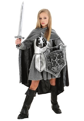 Girl's Warrior Knight Costume