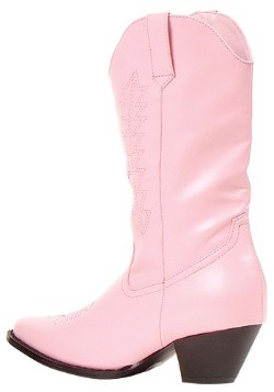 Girls Pink Cowgirl Boots