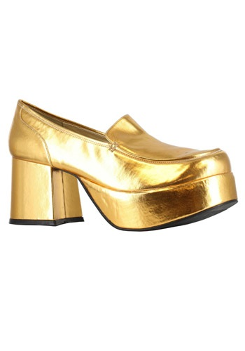 Gold Daddio Pimp Shoes
