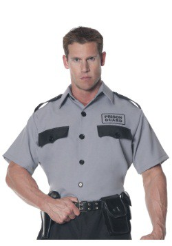 Men's Plus Size Prison Guard Shirt