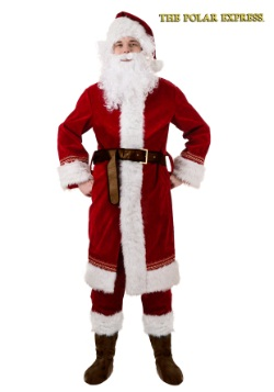 Plus Size Polar Express Santa Costume