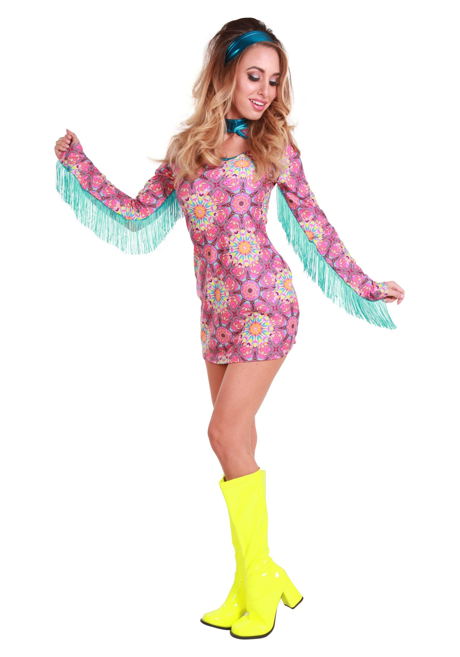 sc 1 st  Halloween Costumes AU & Womenu0027s Summer of Love Hippie Costume