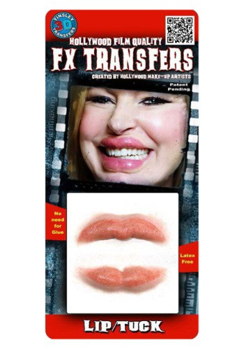 Lip Tuck Temporary 3-D Tattoo Kit