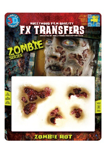 Zombie Rot Temporary 3-D Tattoo Kit