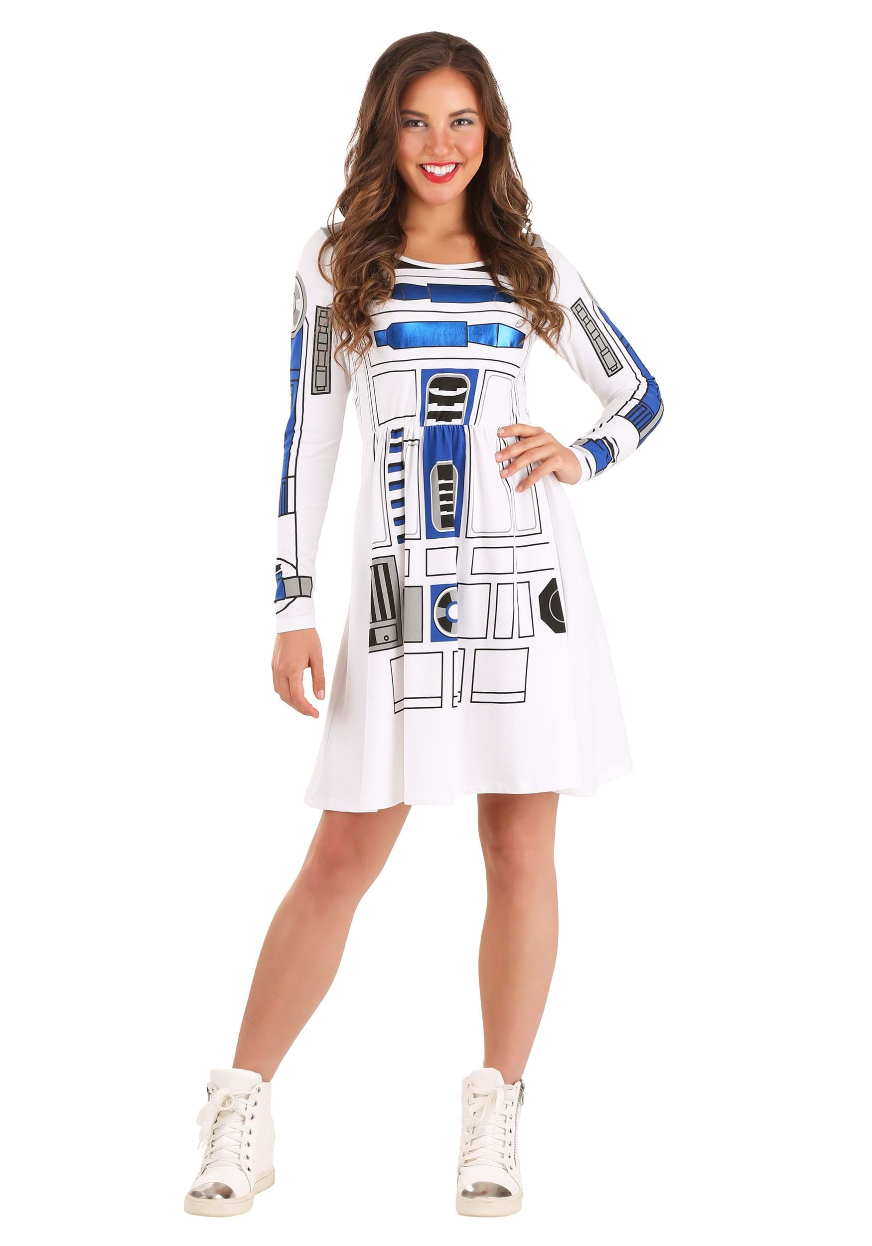 Star Wars I am R2D2 Skater Dress for Juniors Costume