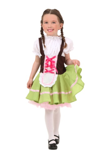 Toddler German Girl Costume