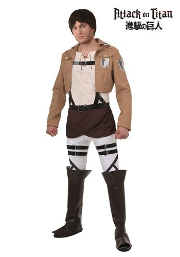 Attack on Titan Eren Costume
