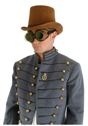 Brown Suede Coachman Hat