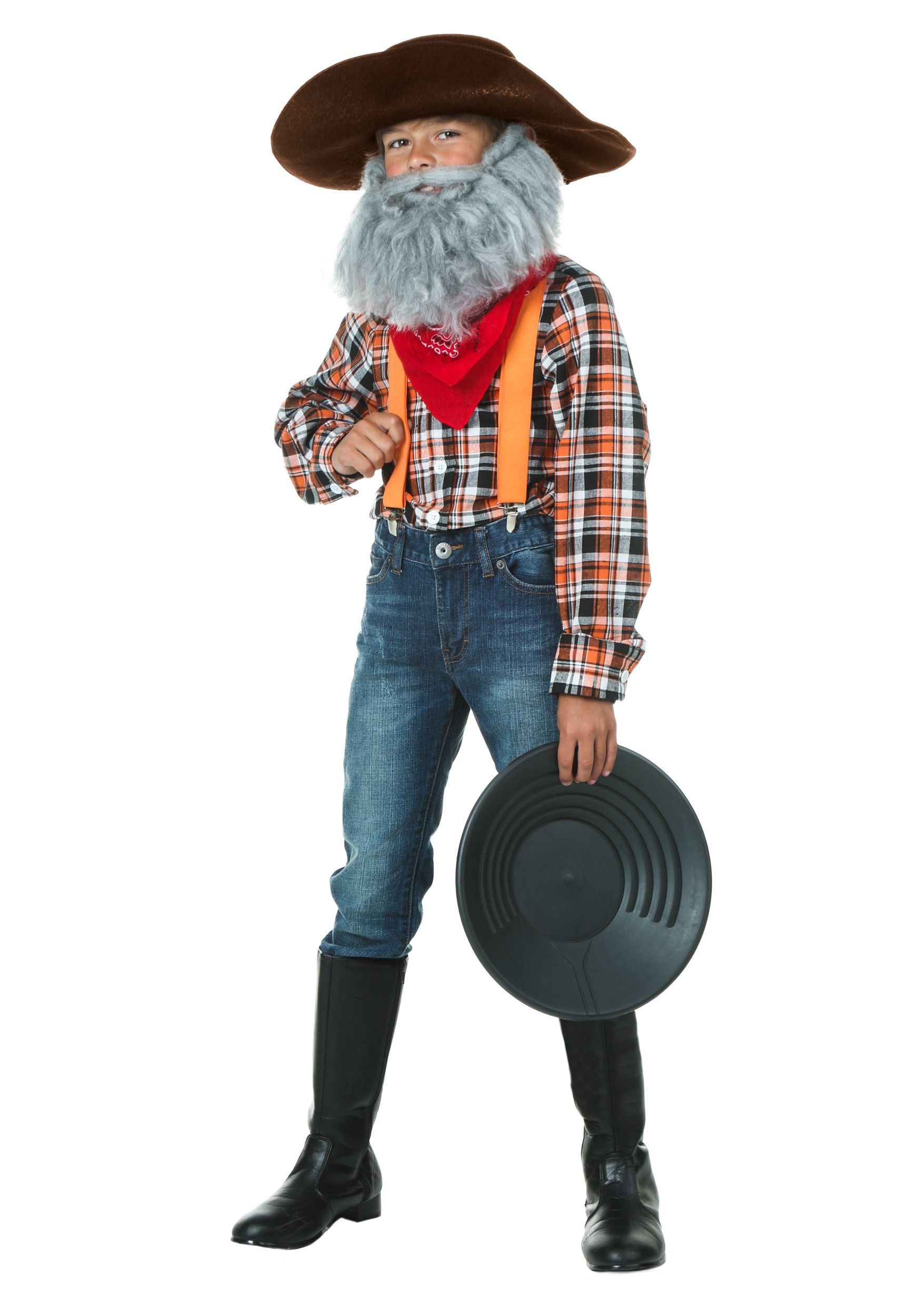 sc 1 st  Halloween Costumes UK & Child Prospector Costume